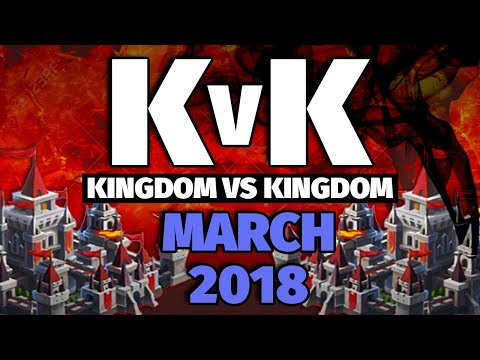 Lords Mobile -  March 2018 KvK - 6.5 Million Kills