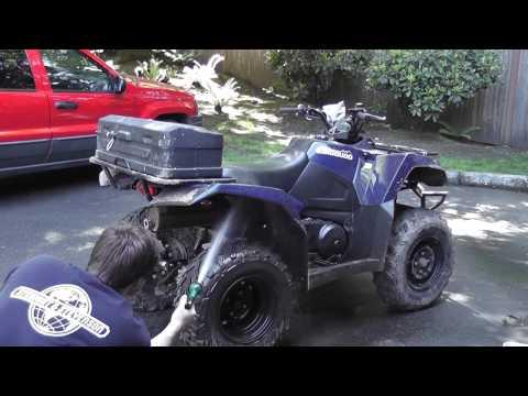 Kolpin Scout Box | ATV Storage Box | Water Test