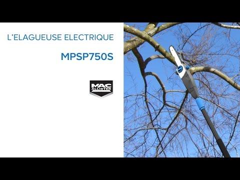 Elagueuse sur perche lectrique mps750 mac allister 616837 castorama - Elagueuse electrique sur perche ...