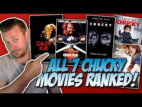 All 7 Chucky Movies Ranked Worst to Best w Cult of Chucky