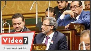 خالد يوسف يدخل فى مشادة مع نائب