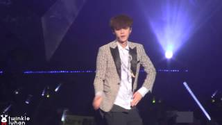 Video 140719 EXO The Lost Planet in Shanghai Thunder  LUHAN focus download MP3, 3GP, MP4, WEBM, AVI, FLV Juni 2018