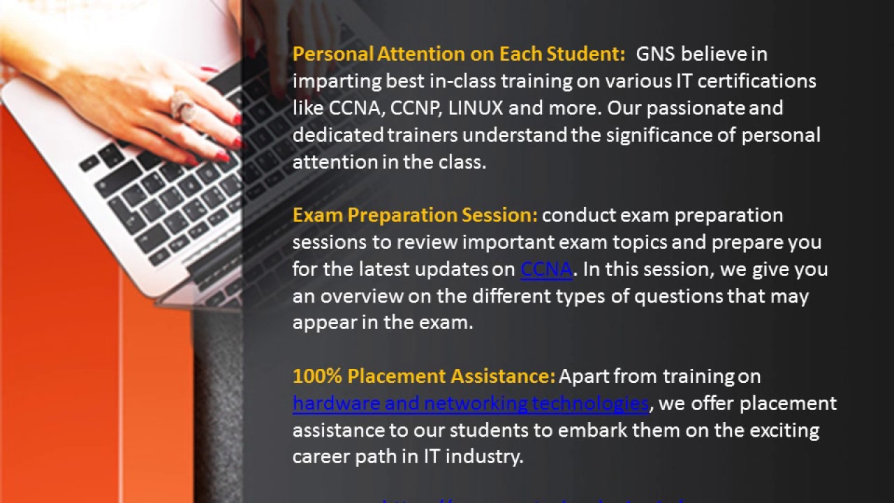 Gns Best Networking Institute In Pune Youtube
