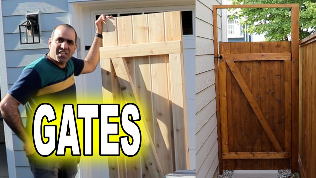 Making Wooden Gates for My House