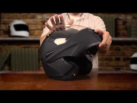 ce0f2d3b ILM 808 MOTORCYCLE DUAL VISOR FLIP UP MODULAR HELMET - YouTube