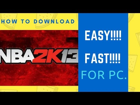 How To Download NBA 2K13 Full VERSION For FREE