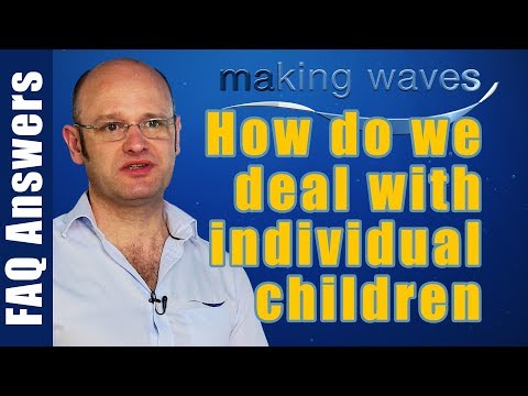 Making Waves Swimming Lessons East Kilbride Glasgow - Kids are all different how we deal with that