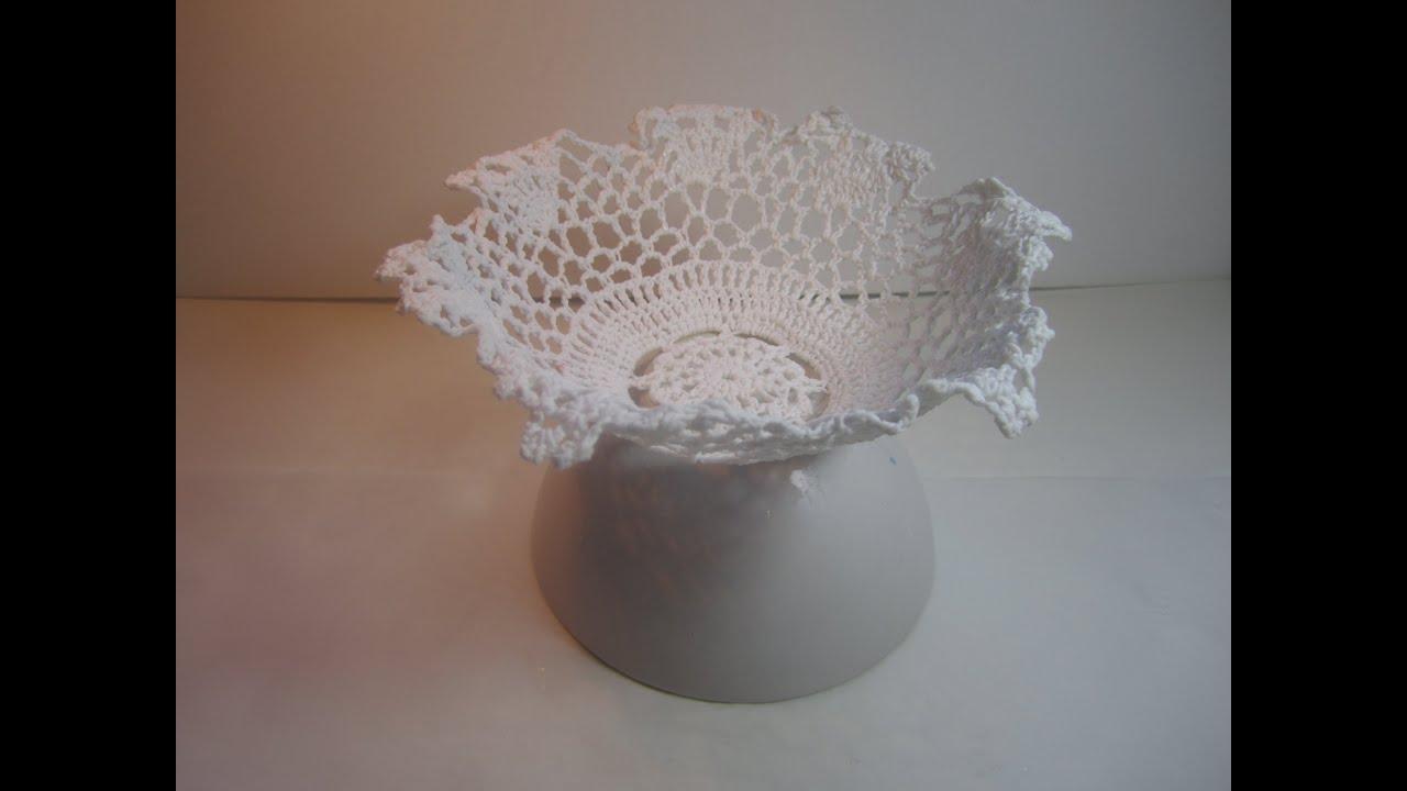 C mo hacer un dulcero a ganchillo crochet bowl youtube - Como hacer cosas de ganchillo ...