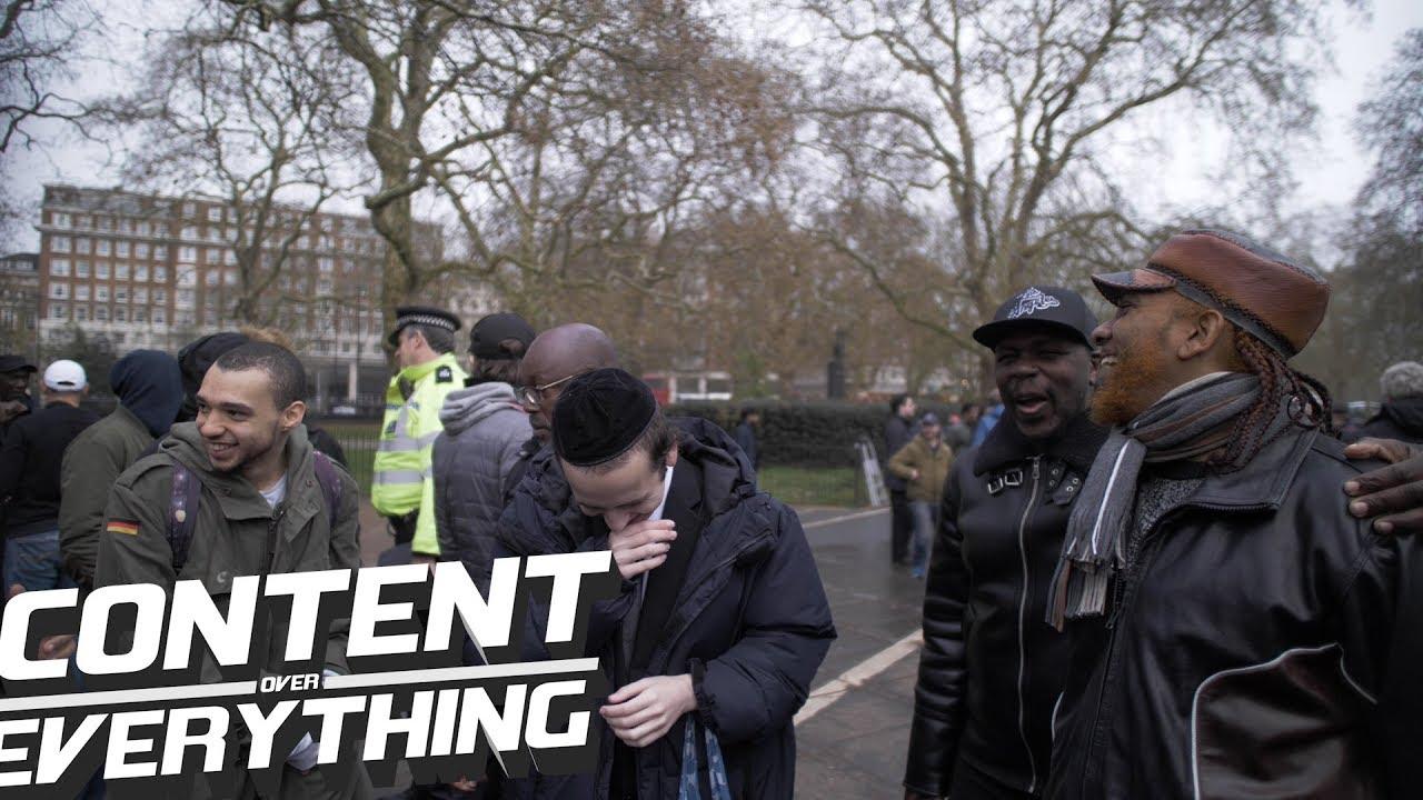 Nigerian Hebrew Vs Jewish Mans Claims of Lineage | Speakers Corner *DJ Riza  Cam - Love Visit & Explore London