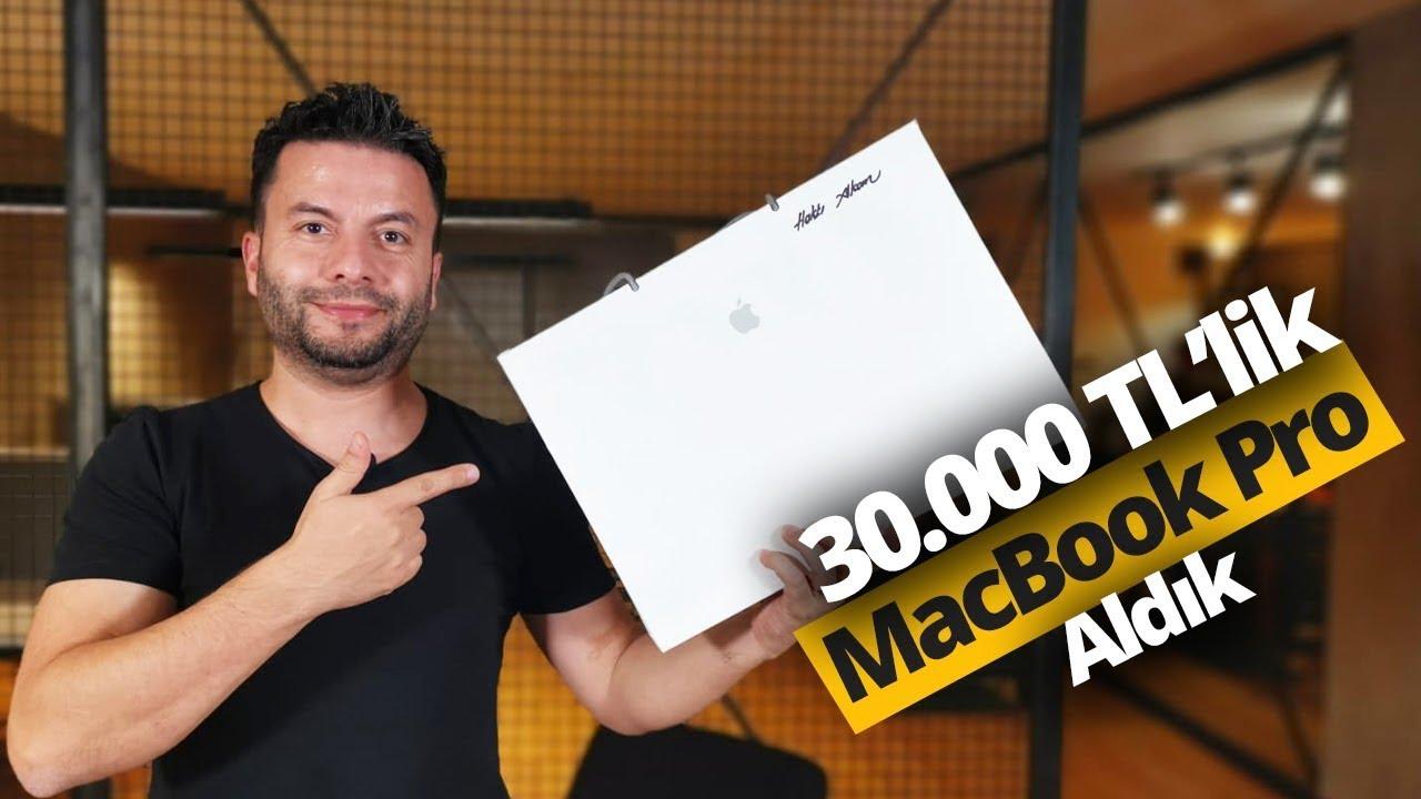 30.000 TL'lik MacBook Pro 16 inç kutudan çıkıyor!