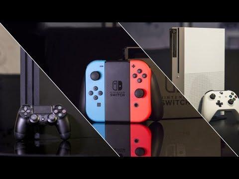 Сравнение консолей Xbox One S / Playstation 4 / Nintendo Switch | Какую консоль выбрать в 2019?