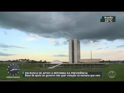 Governo desiste de votar reforma da Previdência na próxima semana | SBT Brasil (07/12/17)