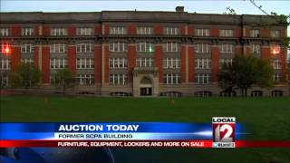 Remains Of Former School For Creative And Performing Arts Up For Auction