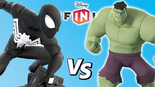 HOMEM-ARANHA SIMBIONTE VS HULK no Disney Infinity 3.0 Toy Box BOSS BATTLE