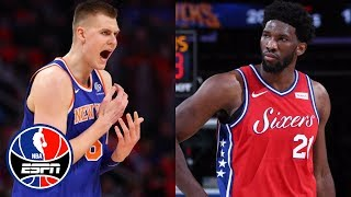 Kristaps Porzingis or Joel Embiid: Who would you rather have on your team? | NBA Countdown | ESPN