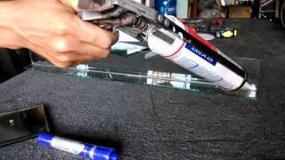 hướng dẫn kỹ thuật bắn keo silicol,cách bắn keo silicol không cần băng dính