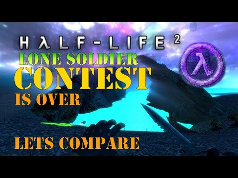HL2 Lone Soldier Contest Resuilts & Winners