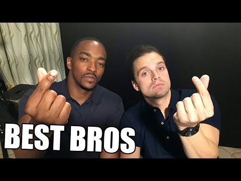 Anthony Mackie and Sebastian Stan Funniest Bromance Moments(Part-1) | Try Not To Laugh 2019