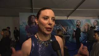 A Wrinkle InTime LA World Premiere - Itw Kristina Adamski (Official video)