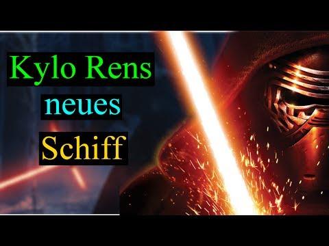 Kylo Ren's neues Raumschiff in Star Wars 8 - So sieht es aus! (Deutsch)