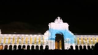 Ulisseia 21 - Lisbon 2015 (Multimedia show - Praça Do Comercio)