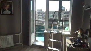 Видео отзыв, мойка: лоджия, балконный блок и окон<