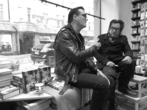 Jyrki Linnankivi & Jonathan Shaw at Nide bookstore 2 Helsinki