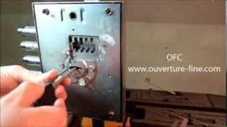 Outil Auto Impression ATRA DIERRE 6 Gorges Ouverture Fine Double panneton Crochetage thumbnail