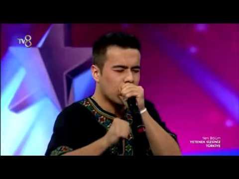 Yetenek Sizsiniz Türkiye Diliyaer Abuduaini'den Beatbox Gösterisi