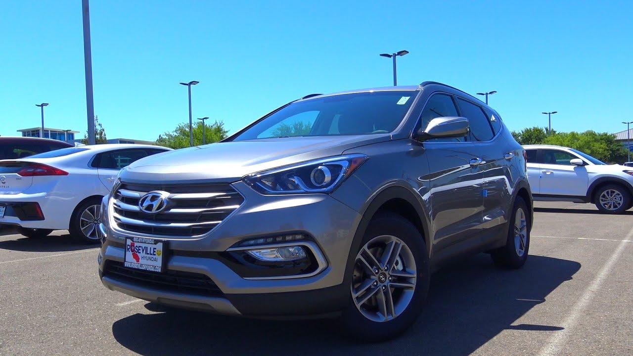 2018 Hyundai Santa Fe Sport 2  Cylinder Review Test Drive