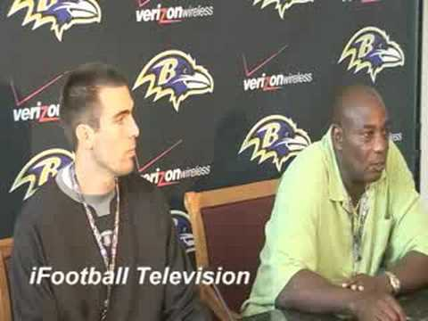 Ravens GM Ozzie Newsome interview Introducing Joe Flacco