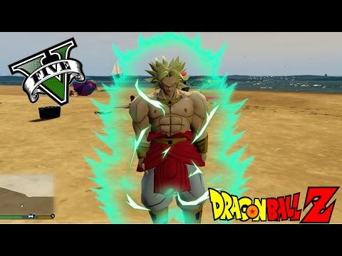 BROLY EL GUERRERO LEGENDARIO EN GTA 5 | DRAGON BALL Z MOD