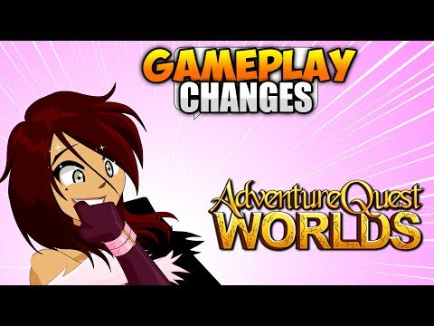 AQW NEW GAMEPLAY CHANGES!!! AdventureQuest Worlds 2.0