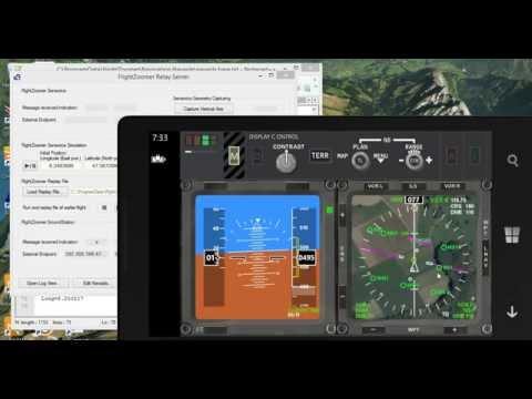 FlightZoomer Radio Naviation Demo&Simulation