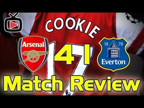 Arsenal v Everton 4-1 Match Review