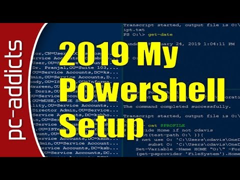 Powershell – My Setup at Work as a SysAdmin