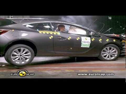 All New Opel Astra GTC 2012 Crash Test