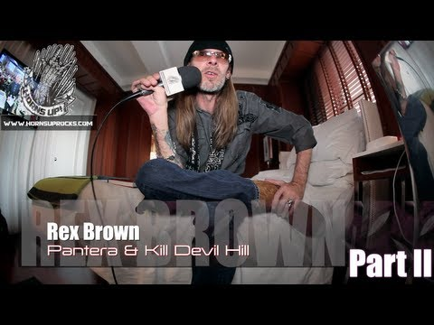 Rex Brown (Part 2): The Excesses Of The Road With Pantera, Quitting Down & NEW Kill Devil Hill!
