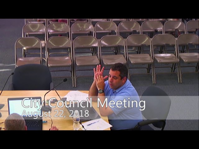 Asbury Park City Council Meeting - August, 22 2018
