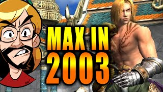 MAX IN 2003?! 13 Year Old Tournament Footage Found (Soul Calibur 2)