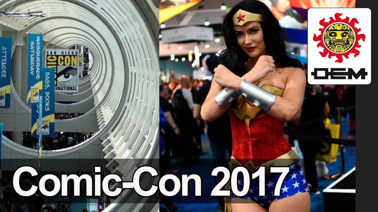 Da Inicio La Comic Con 2017 Oem Youtube