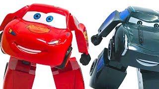 Машинки трансформеры Тачки 3 Молния Маквин смотреть  #машинки #роботы #трансформеры