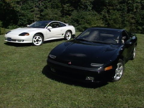 1991 Dodge Stealth RT Turbo / Mitsubishi 3000GT VR4 | Retro Review - YouTube