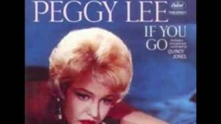 Watch Peggy Lee All Too Soon video