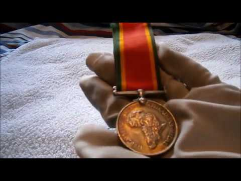 Review: ww2 South African service medal (1943)