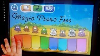 Android игры для малышей: Magic Piano Free