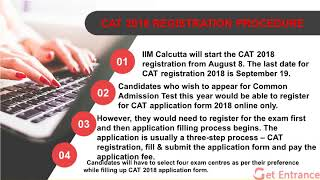 CAT 2018 Registration Process | Step by Step All Procedure | CAT 2018 Syllabus | MBA  Exam India