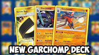 NEW Garchomp Deck! Garchomp/Lucario Is Back! Good Deck For ULP-ON? Unified Minds PTCGO