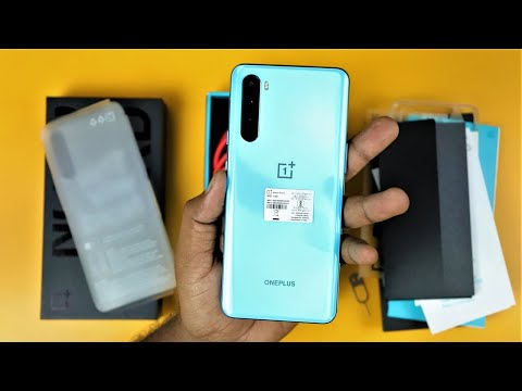 OnePlus Nord 5G (12GB RAM + 256GB ROM Blue Marble varient) Unboxing