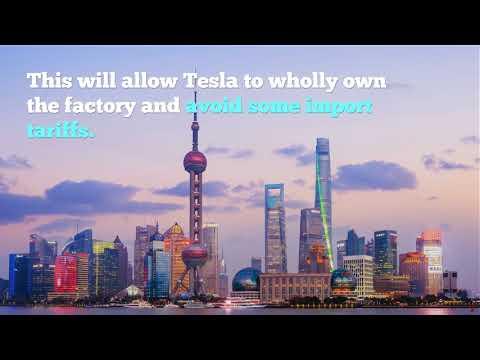 Tesla Buys Land for New Gigafactory in Shanghai